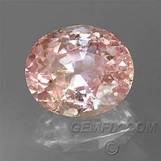 padparadscha sapphire unheated orangy pink oval portuguese cut 2 06cts 13 532 gemfix