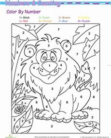 color by number animal worksheets 16069 the world s catalog of ideas