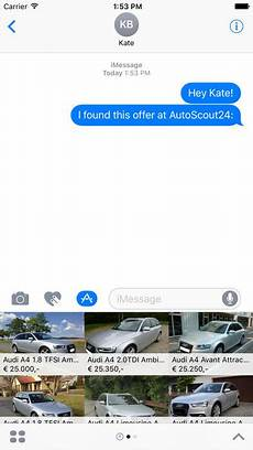 autoscout24 auto usate sull app store