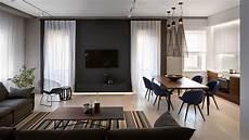Masculine Interior Design Apartment In Poland Minimalist Style