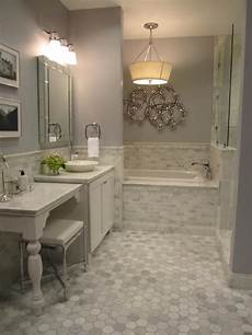 bathroom ideas images 40 gray hexagon bathroom tile ideas and pictures