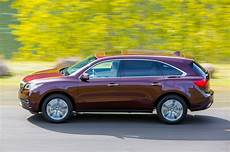 2016 acura mdx sh awd first test review motor trend