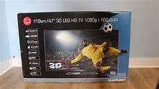 www tv blaupunkt 47 hd 1080p 3d led tv unboxing reviews