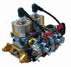 52cc inline left side exhaust marine engine for rc