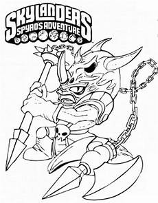 Malvorlagen Adventure Skylanders Spyros Adventure Malvorlagen F 252 R Kinder 9