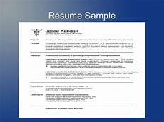 how to make resume for application resume template