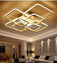 2017 rectangle acrylic aluminum modern led ceiling lights