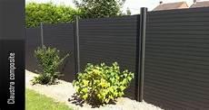 cloture claustra composite exterieurstock fr cloture terrasse composite 224 prix