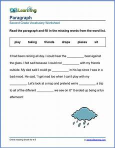2nd grade vocabulary worksheets printable and organized