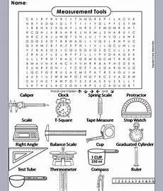 physical science measurement worksheets 13142 measurement tools worksheet word search coloring sheet in 2019 scientific method activities
