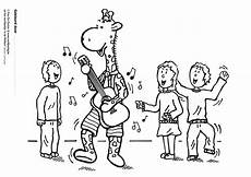 Malvorlagen Gratis Mp3 Malvorlage Juul Und Seine Freunde Machen Musik