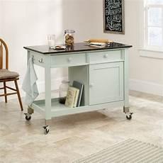 Kitchen Cart Island Walmart by Sauder Original Cottage Mobile Island Rainwater Kitchen