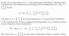 eigenvektor zum eigenwert berechnen mathelounge