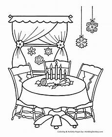 decorations coloring pages home decorations