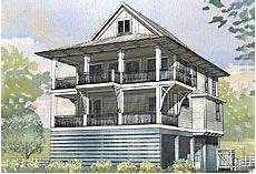 narrow lot beach house plans on pilings elevated raised piling and stilt house plans coastal