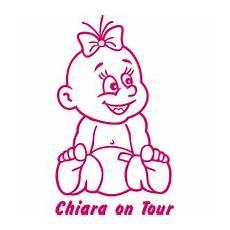 Sticker Parade Baby An Bord