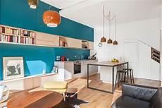peinture meuble cuisine bleu petrole maisondd