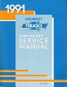 free auto repair manuals 1992 chevrolet lumina apv on board diagnostic system 1991 chevrolet lumina apv minivan factory service manual