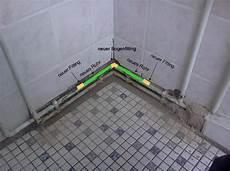 wasserleitung selbst verlegen systeme wasserleitung bogenfitting defekt selbst de diy forum