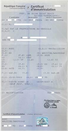 Carte Grise Les Documents 224 Fournir Pour Ma Carte Grise