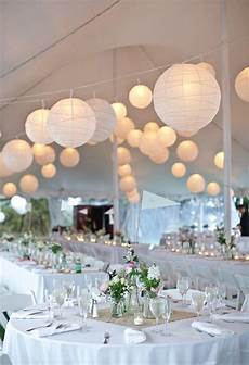 white paper lanterns for wedding decor