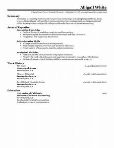 70 outstanding accounting finance resume exles