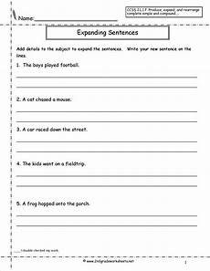 free printable writing sentences worksheets for kindergarten 22201 quadratic sequences worksheet briefencounters