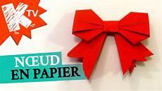 comment faire un origami noeud en papier origami facile