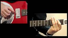 blues slide guitar slide guitar lesson with tab walking blues