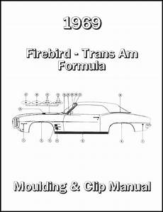 car maintenance manuals 1969 pontiac firebird engine control pontiac firebird parts literature multimedia literature