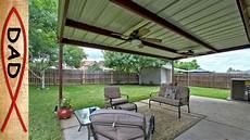 patio cover 20x12 metal no youtube