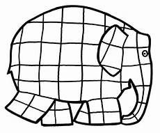 elmar elefant malvorlagen kita projekte