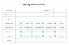 download evaluation form templates for free