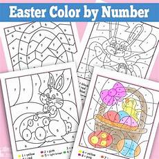 color by number worksheets easter 16129 easter color by numbers worksheets itsy bitsy