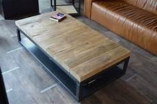 table basse bois massif brut table basse bois brut m 233 tal table basse 224 roulettes