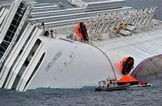 port side costa concordia grounding abandon ship