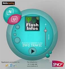 La Radio Flash Info Trafic Des Lignes N Et U