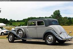 1932 Marmon Sixteen At The Vintage Motor Car Auction
