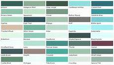 aquamarine color chip sle swatch palette
