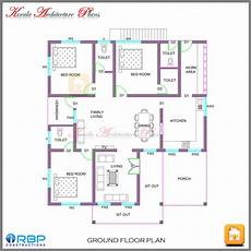 kerala house floor plans kerala style single storied house plan and its elevation