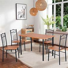 Restaurant Kitchen Furniture Steel Frame Dining Set Table And Chairs Kitchen Modern
