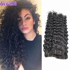 7a unprocessed hair deep curly weave 4