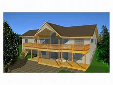 house plans for sloping lots in the rear plan 012h 0025 find unique house plans home plans and