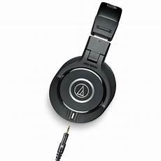 audio technica ath m40x closed back professional studio monitor headphones black