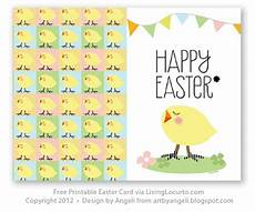 easter card design templates free printable easter card living locurto