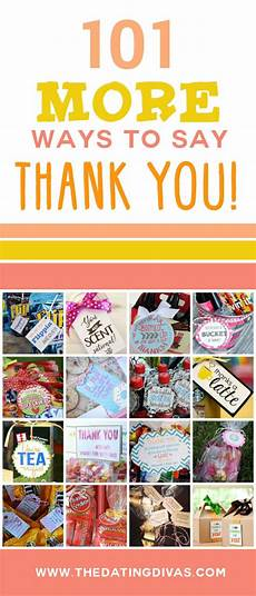 ways to say thank you to on your 101 more ways to say thank you