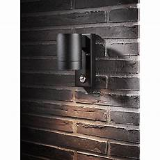 nordlux tin maxi pir outdoor sensor wall light black lighting wall lights external