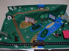 maquetas escolares escuela y paisaje natural bs 500 00 en mercado libre