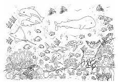 Unterwasserwelt Malvorlagen Bilder Wellcome To Image Archive Ausmalbilder Unterwasserwelt