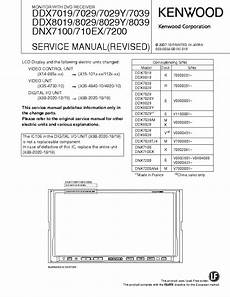 Kenwood Ddx712 Wiring Diagram by Kenwood C929 Sm 2 Service Manual Free Schematics